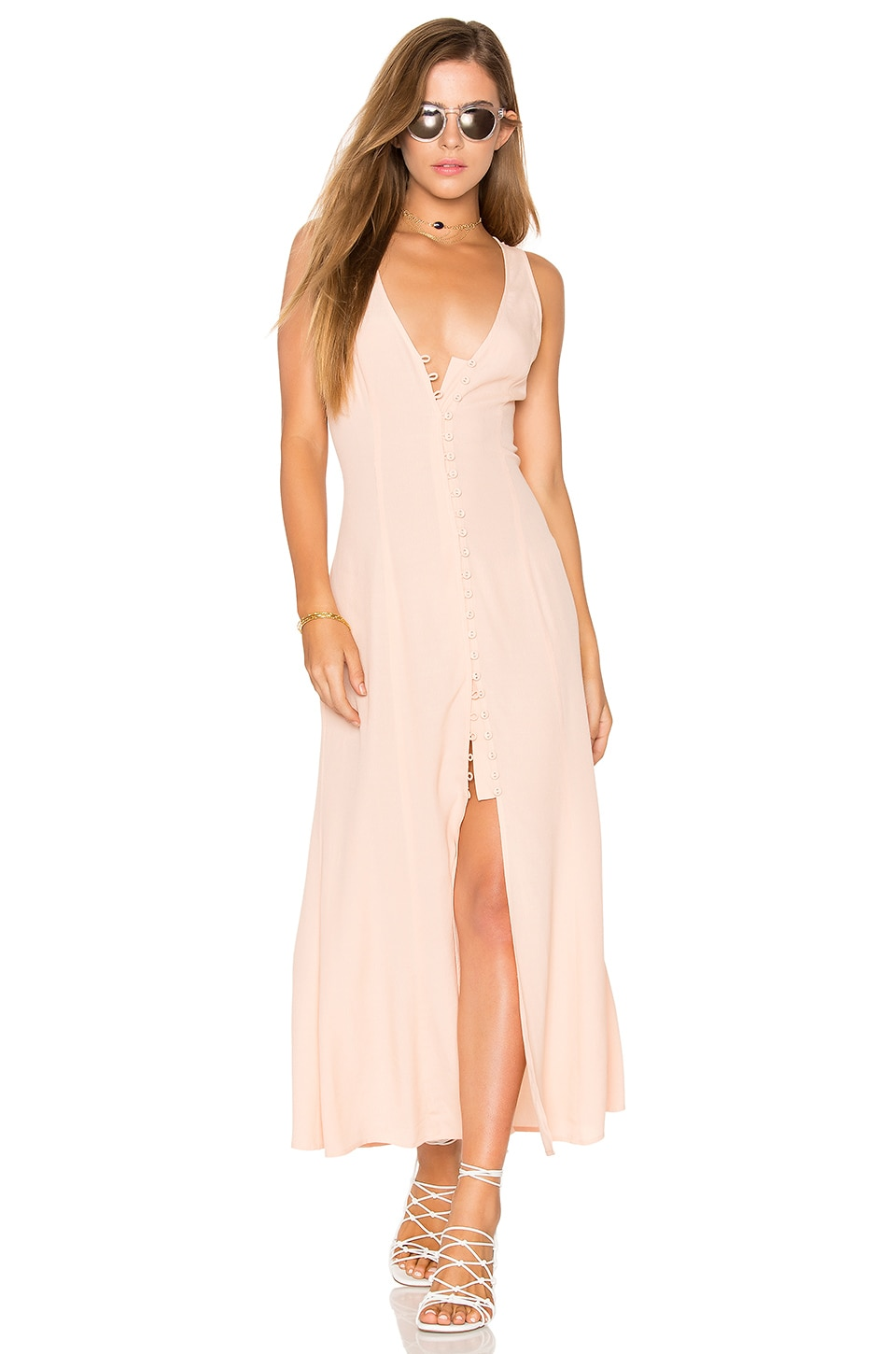Privacy Please Lomax Dress in Blush