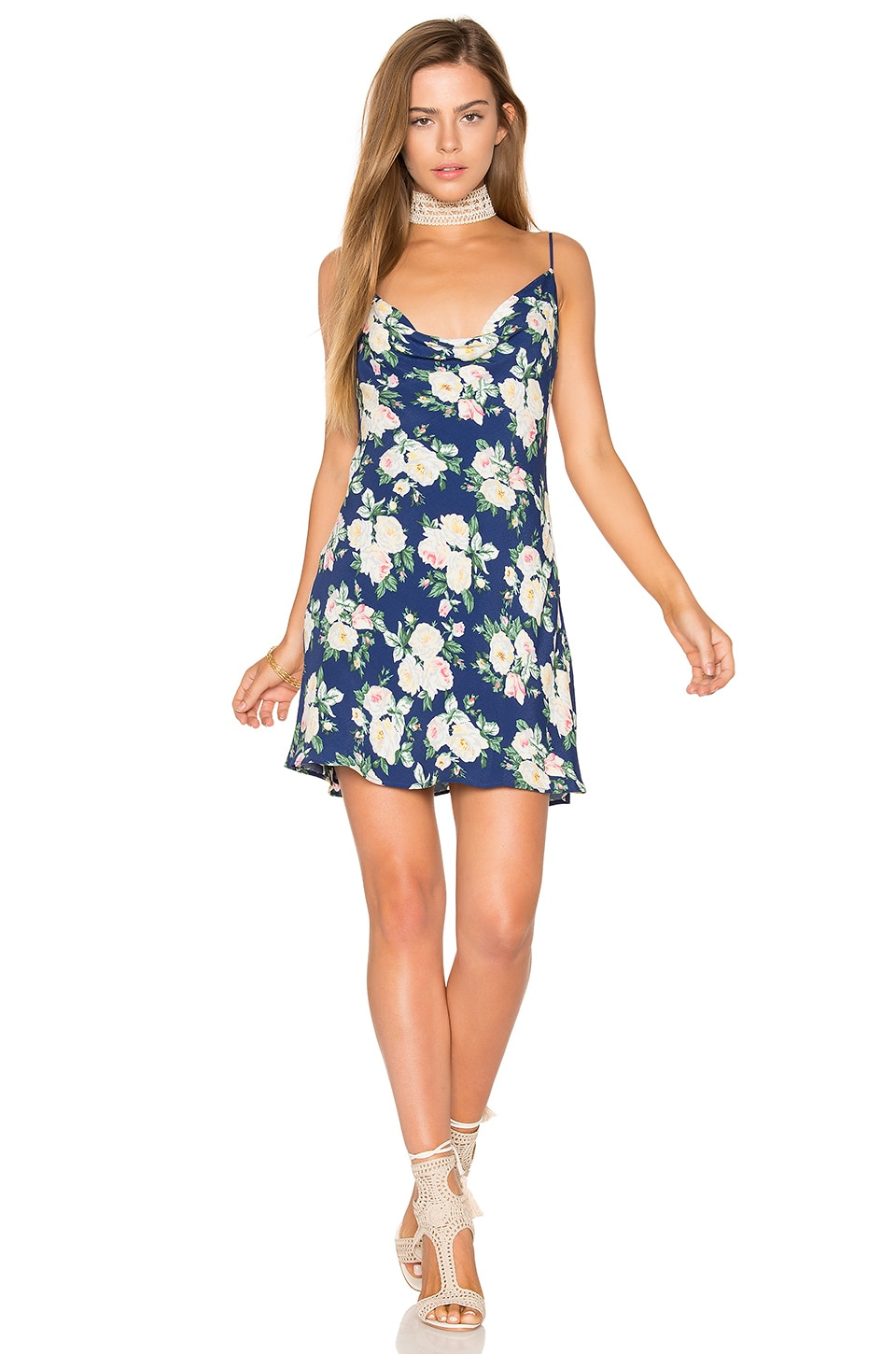 Privacy Please x REVOLVE Ozark Dress in Navy