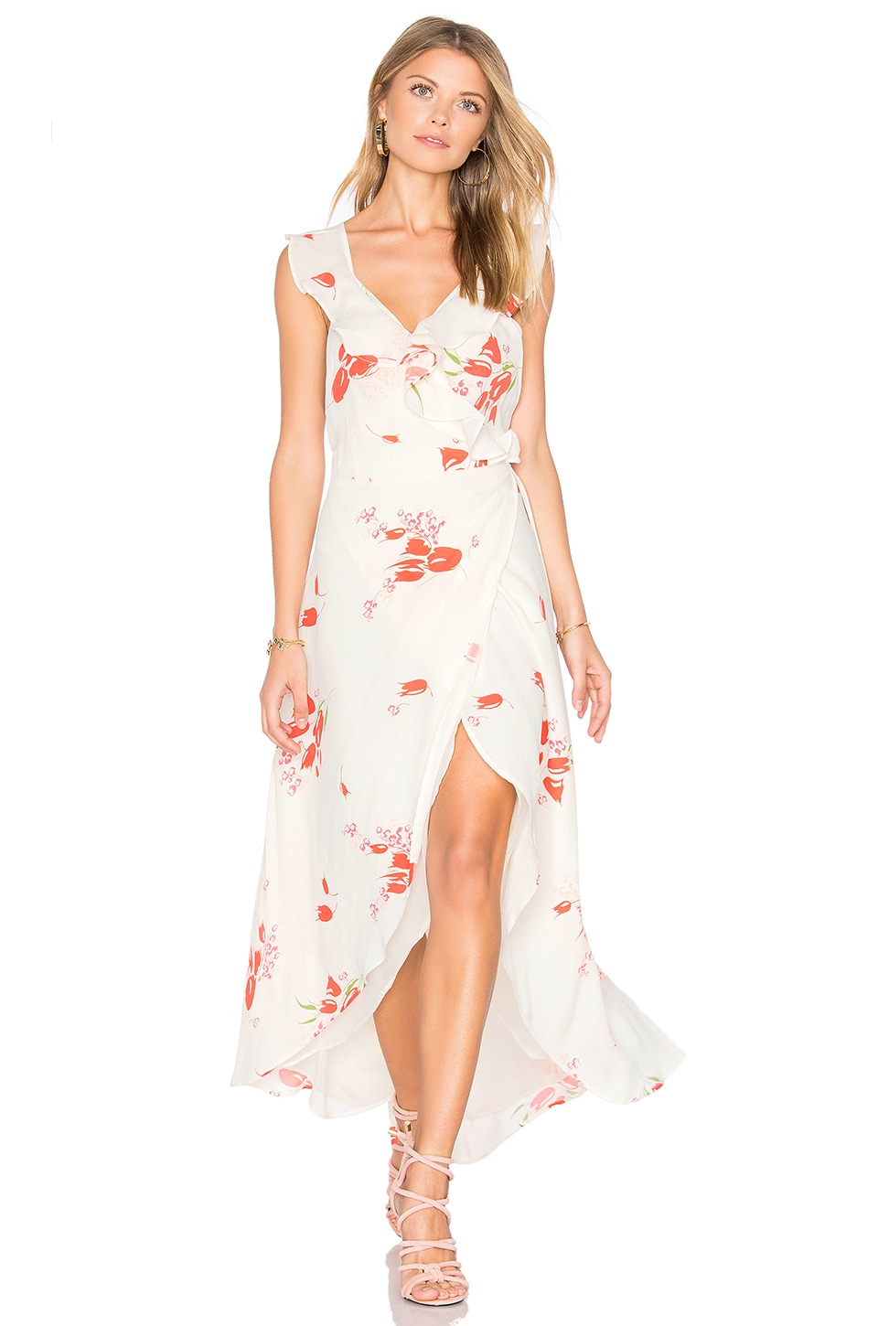 Privacy Please Fillmore Dress in Creme