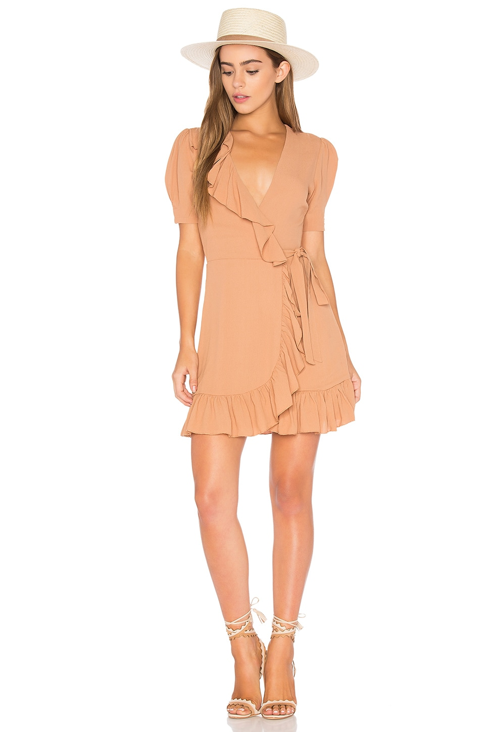 Privacy Please June Dress in Camel