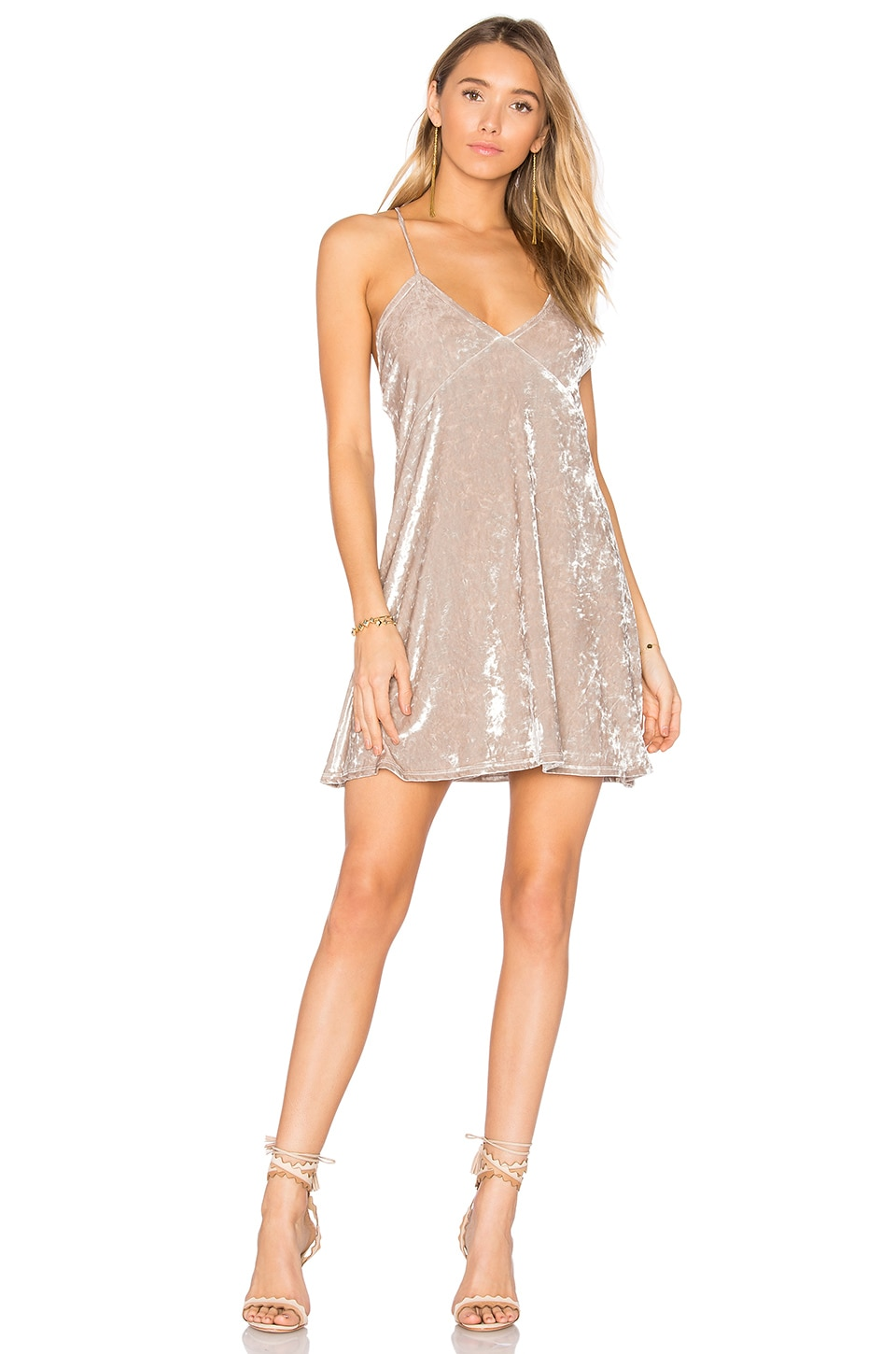 Privacy Please x REVOLVE Downtown Slip Dress in Cream