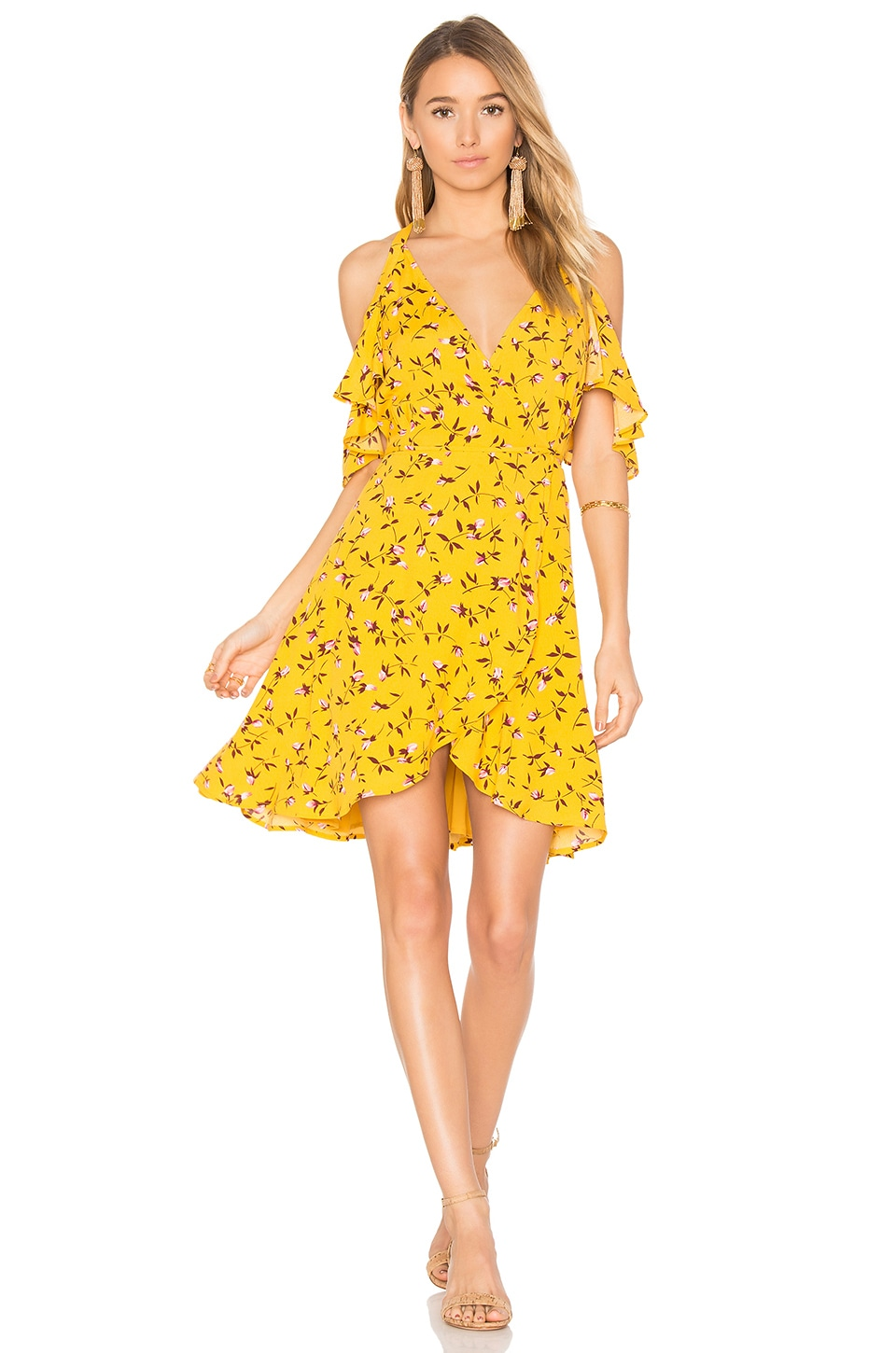 Privacy Please x REVOLVE Delta Dress in Mustard