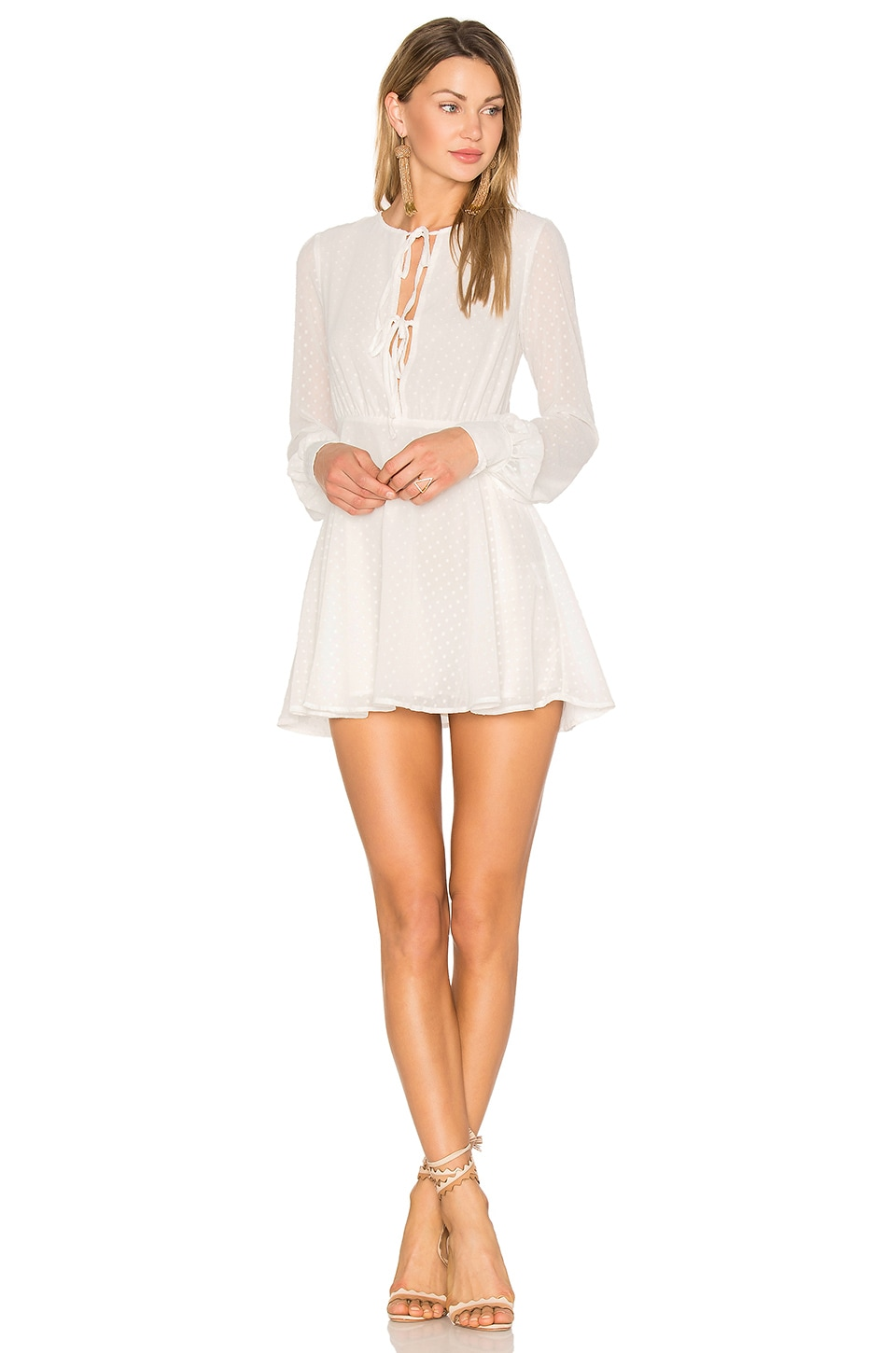 Privacy Please x REVOLVE Easton Dress in White