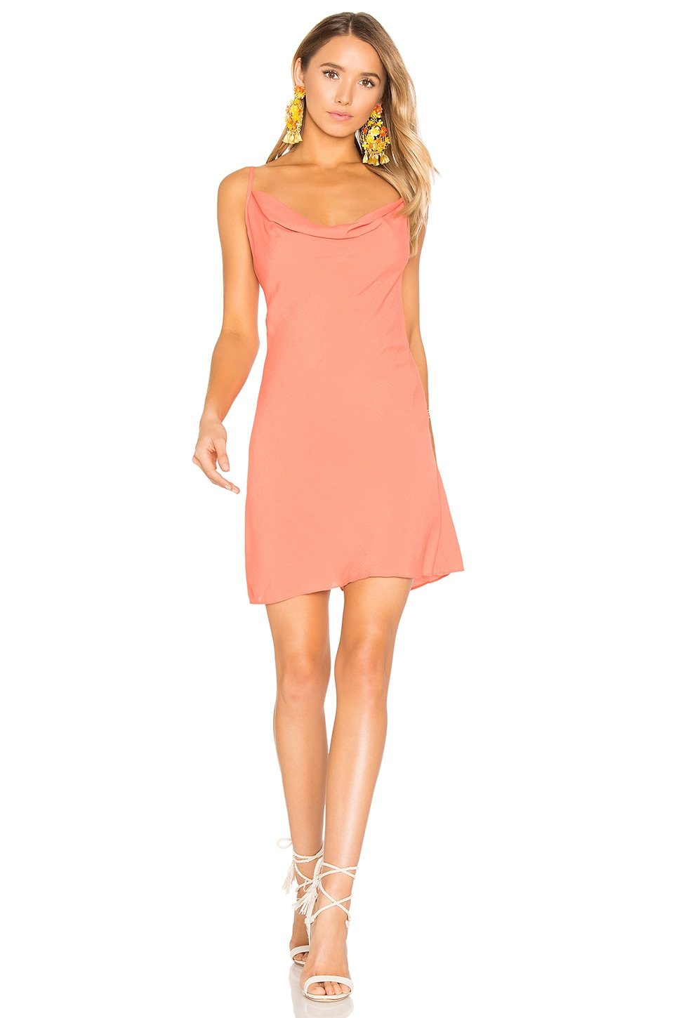 Privacy Please Ozark Dress in Peach