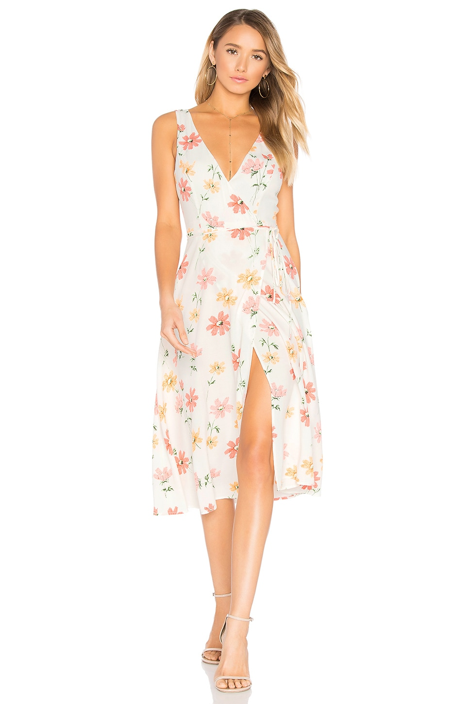 Privacy Please Wilson Dress in Creme