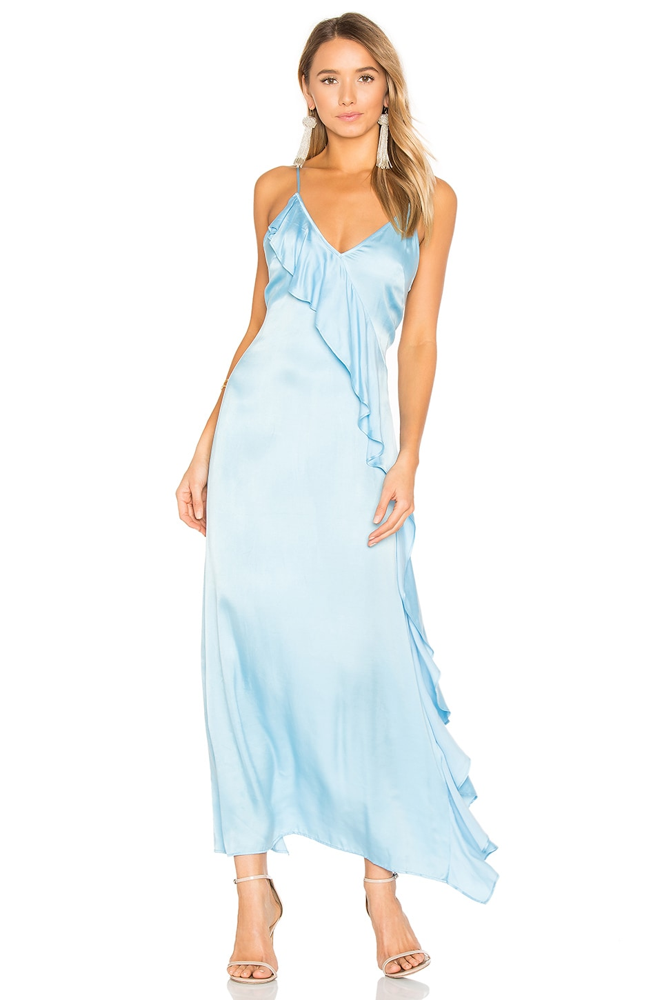 Privacy Please x REVOLVE Erin Maxi in Sinatra Blue