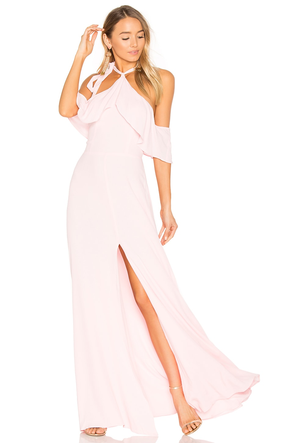 Privacy Please x REVOLVE Bennette Maxi in Pink