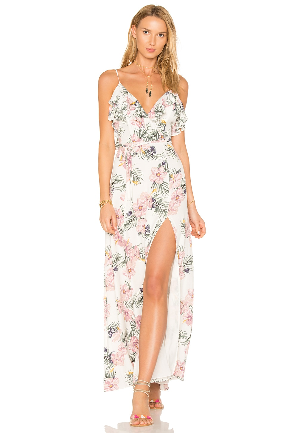 Privacy Please x REVOLVE Karen Dress in Purple Floral