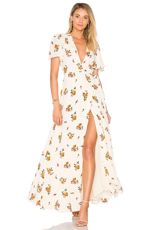Privacy Please Plaza Kimono Dress in Creme