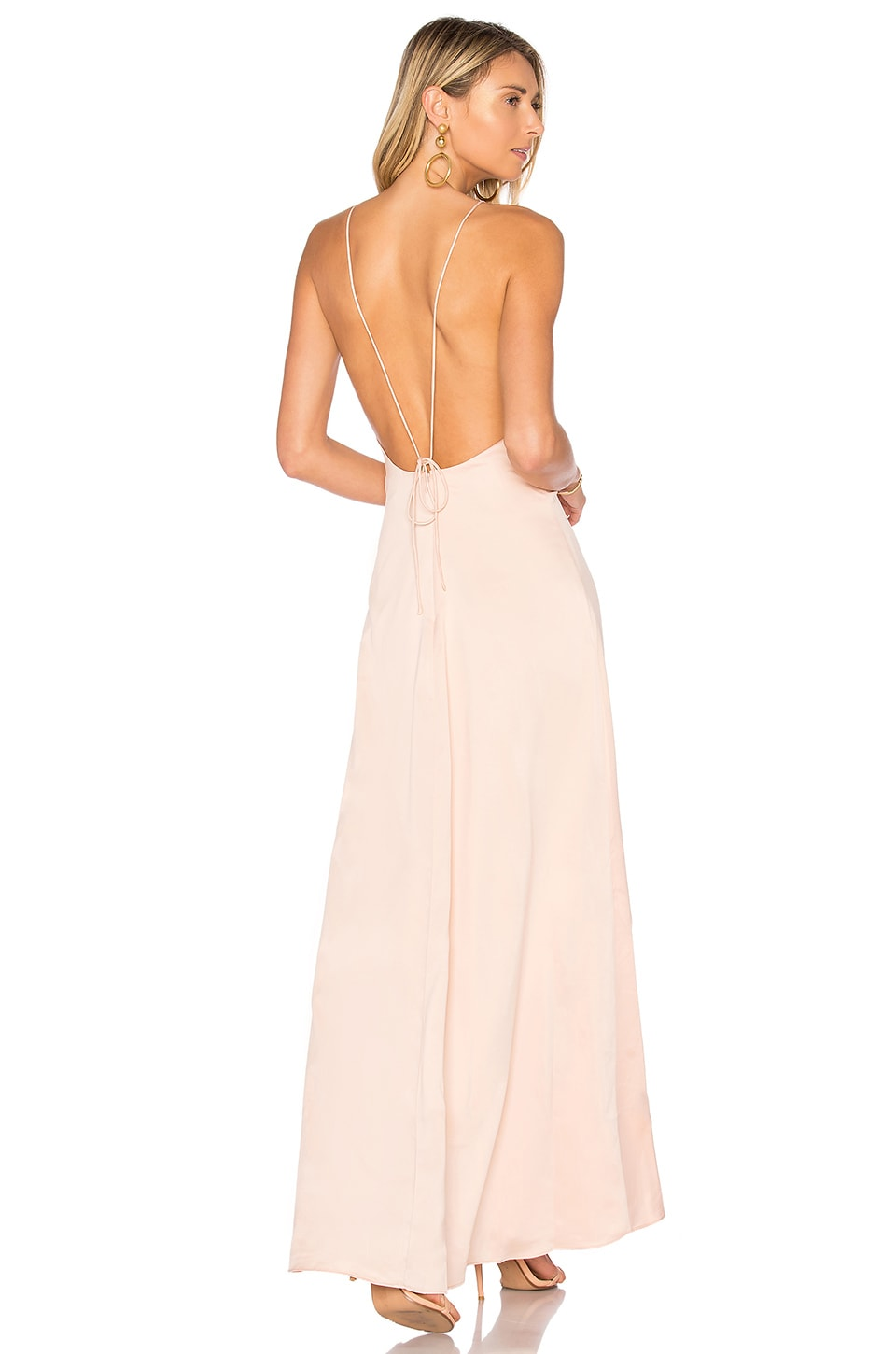 Privacy Please Elm Dress in Nude