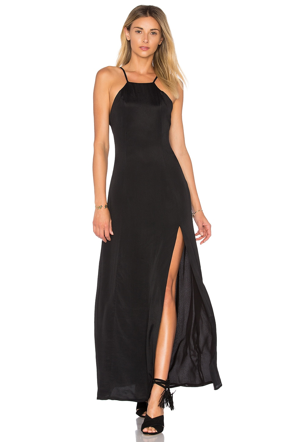 Privacy Please Orrin Dress in Black