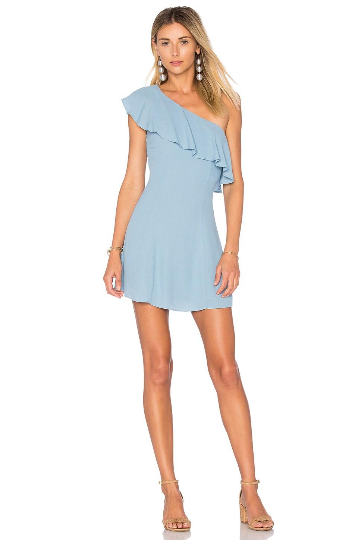 Privacy Please x REVOLVE Tate Dress in Light Blue