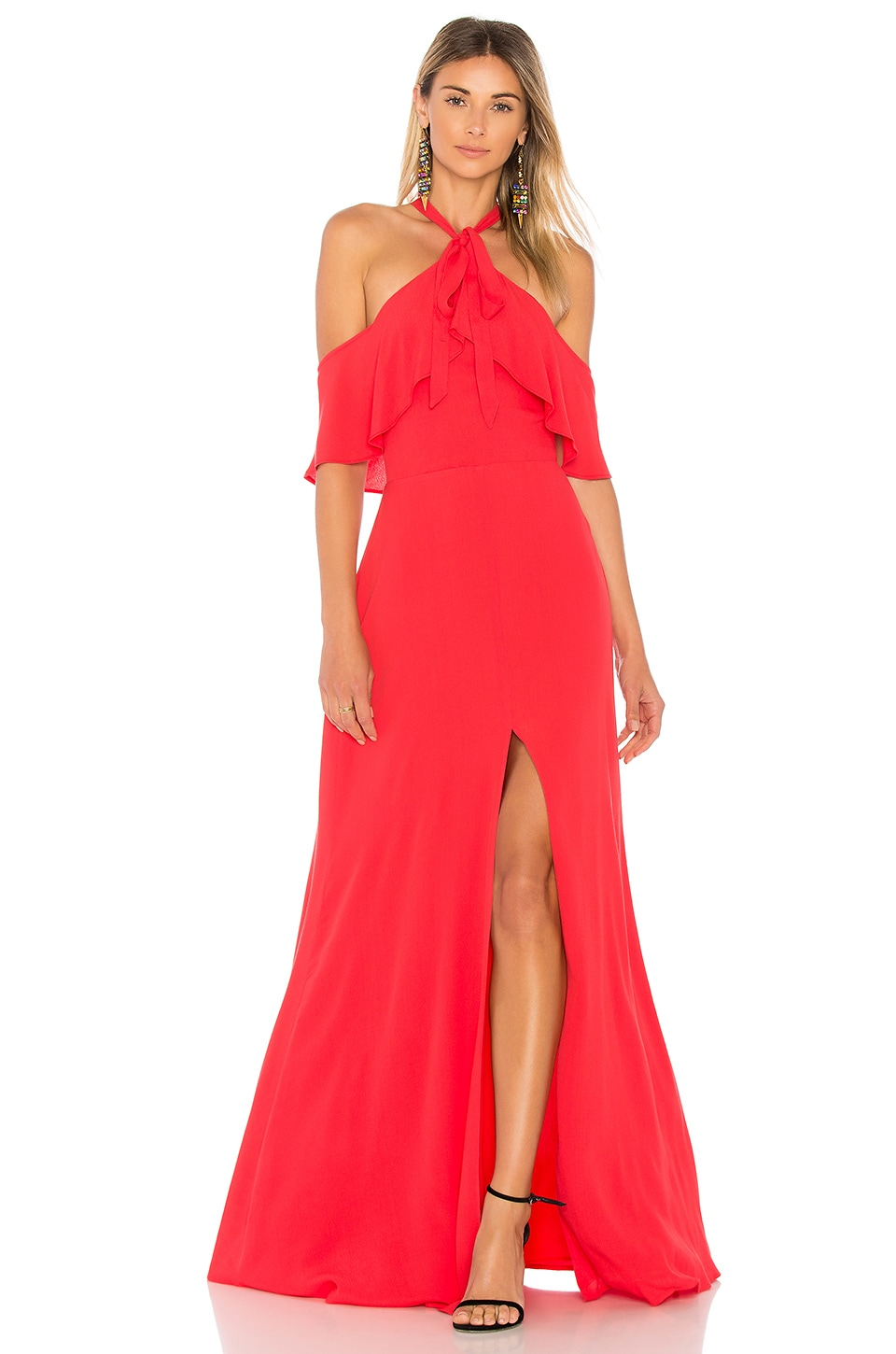 Privacy Please Bennette Maxi Dress in Red