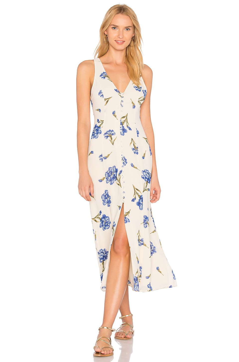 Privacy Please Lomax Dress in Creme
