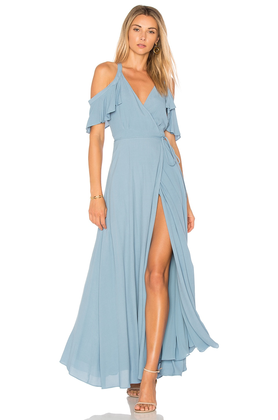 Privacy Please Acme Dress in Blue