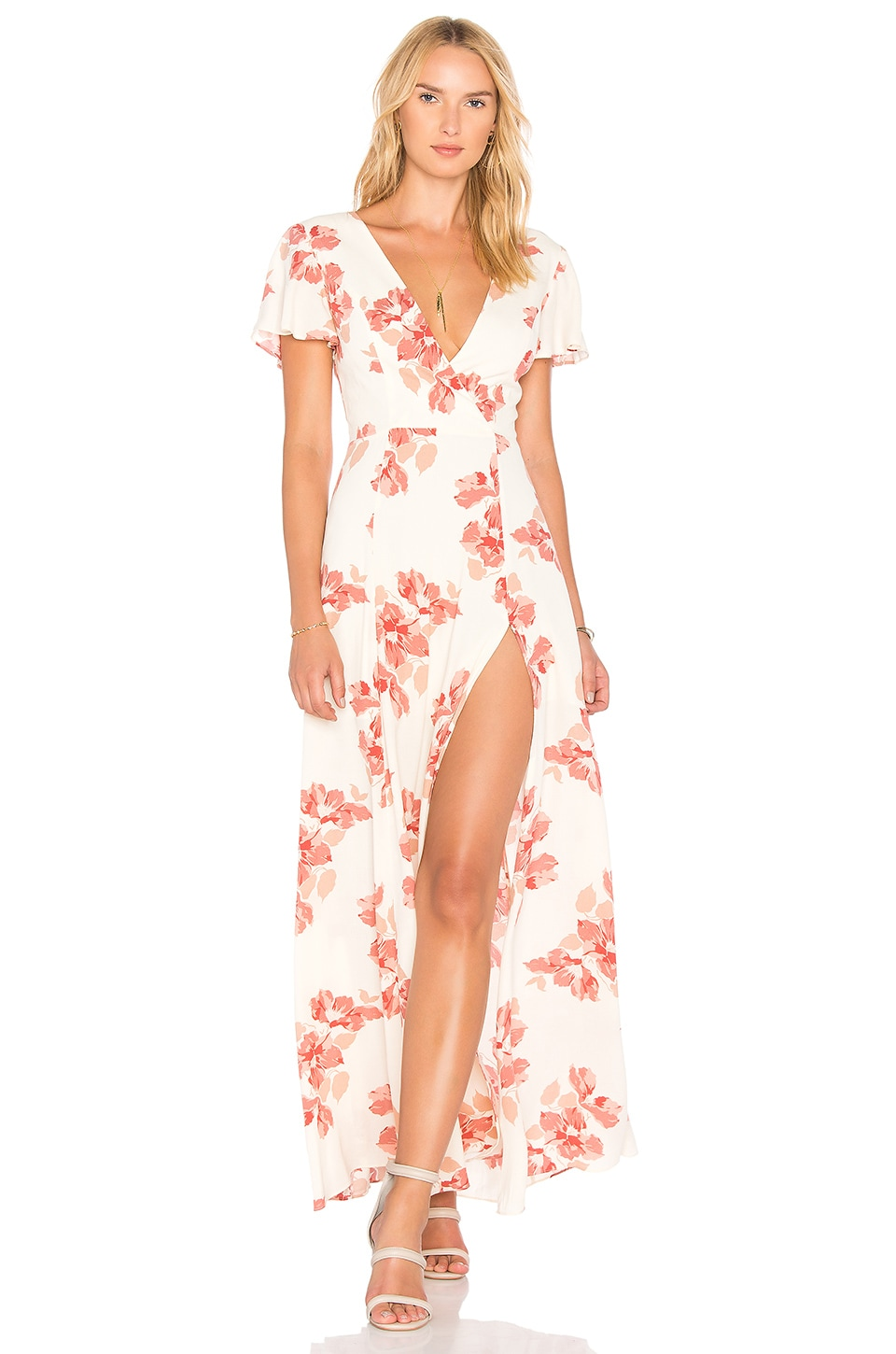 Privacy Please Rebecca Dress in Claudette Blush