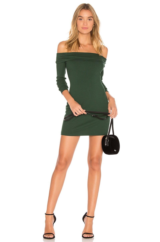 Privacy Please Silas Dress in Hunter Green