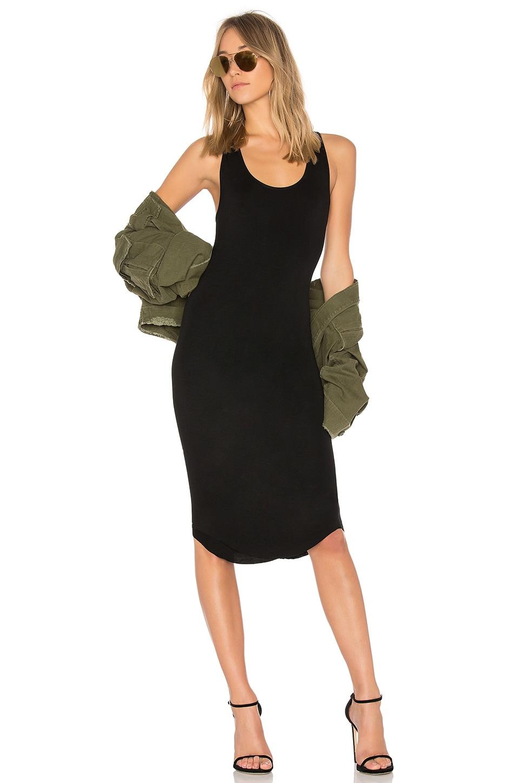 8a85cfa37df9 Privacy Please Racerback Midi Dress in Black