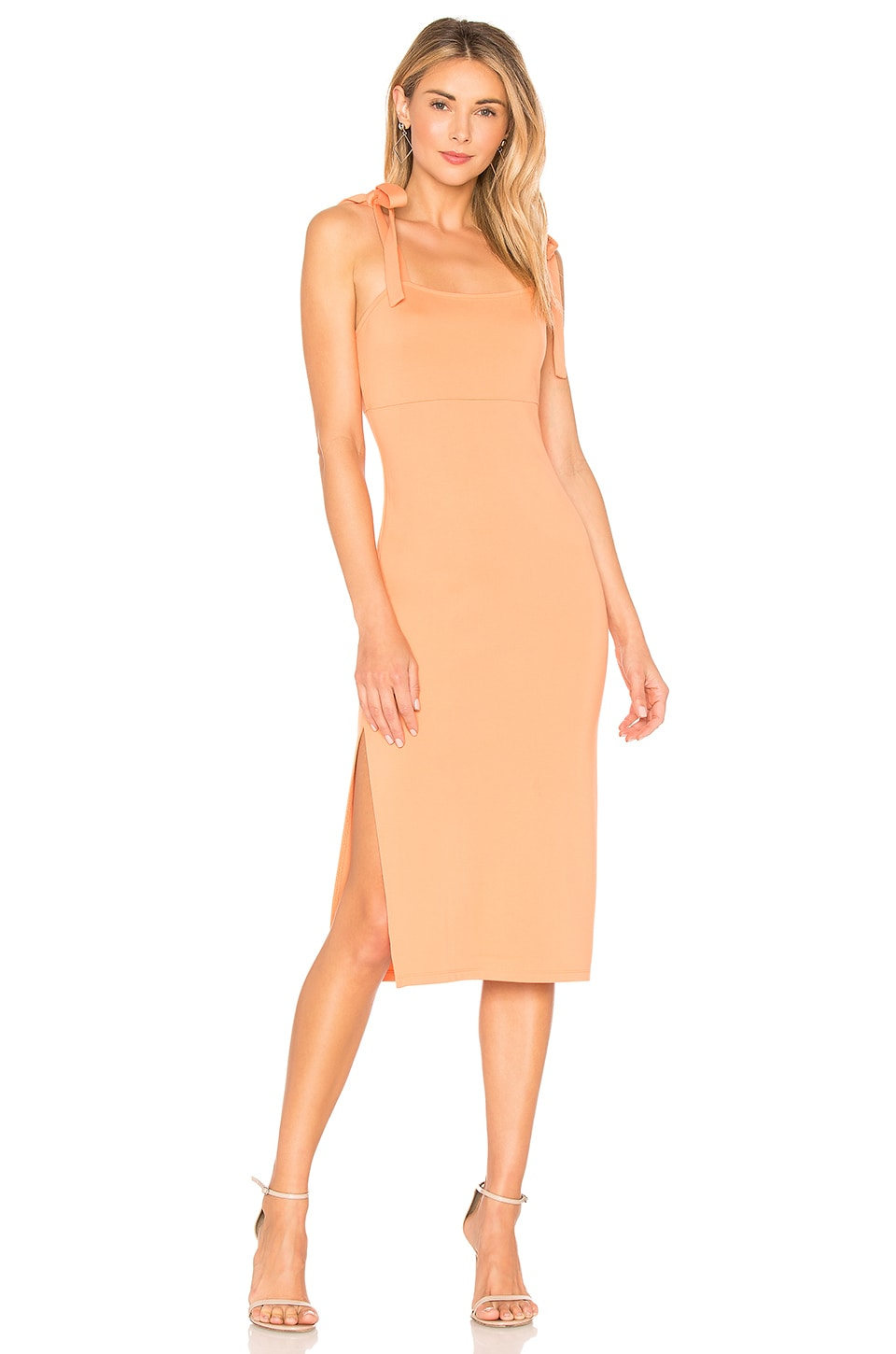 Privacy Please Athens Midi in Apricot