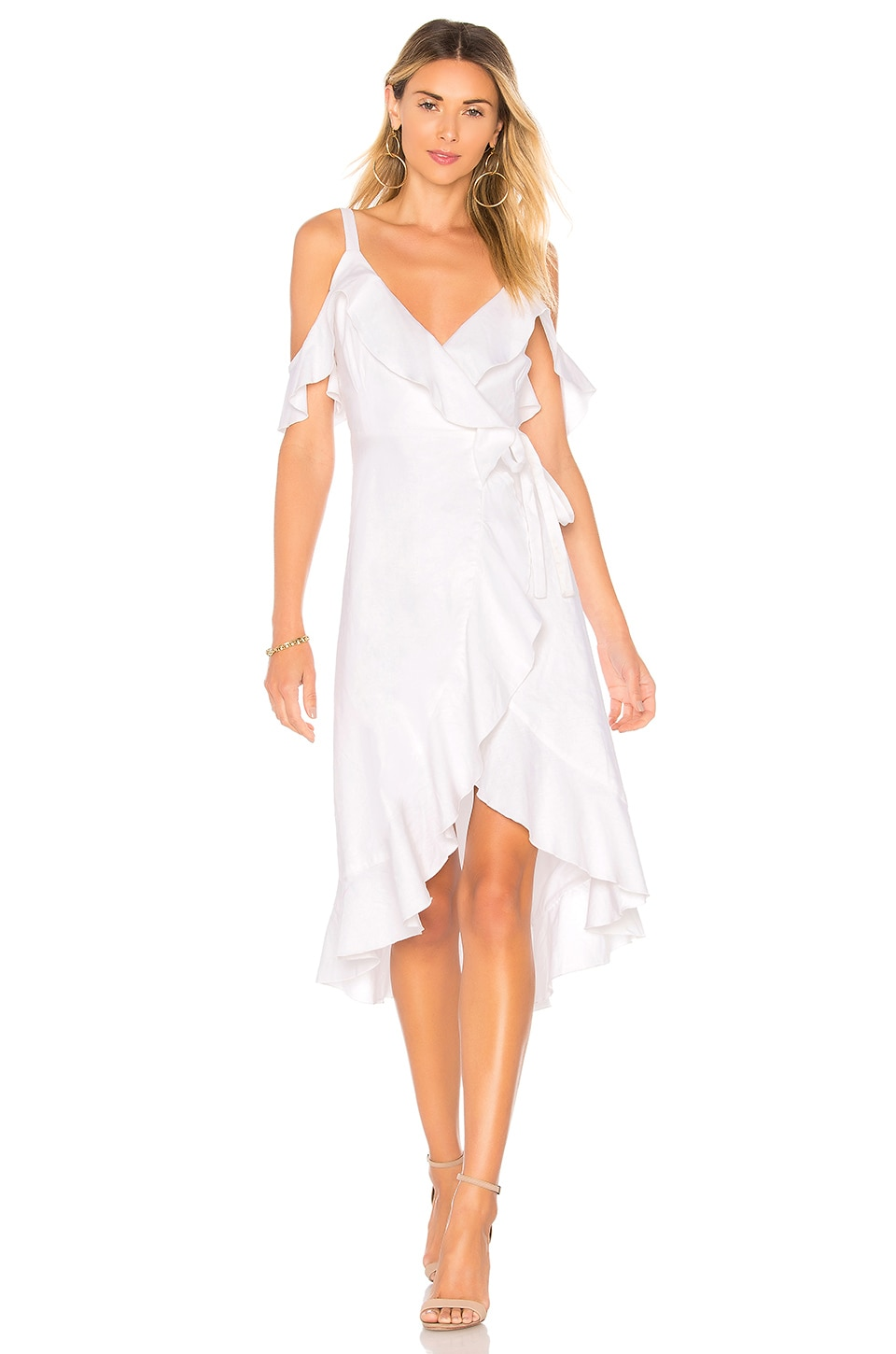 Privacy Please ROBE MIDI DRAPÉE LOWELL