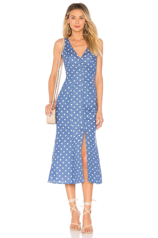 Privacy Please Lomax Dress in Riviera Dot