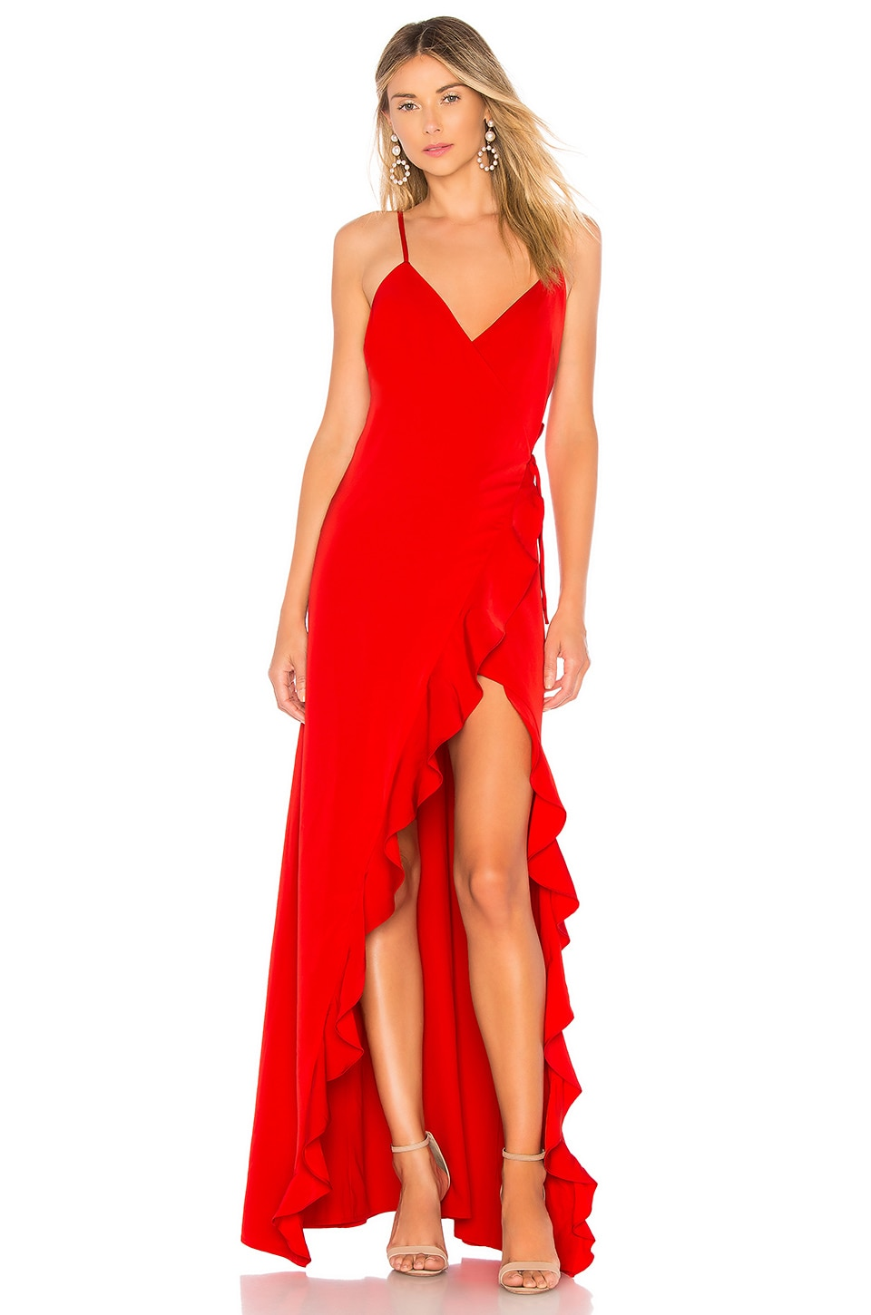 Privacy Please Pelican Dress in Red