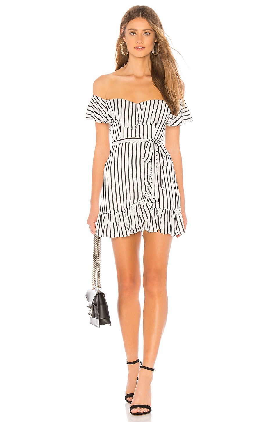PRIVACY PLEASE BELLVIEW MINI DRESS