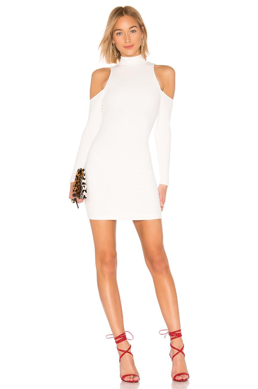 Privacy Please Lorraine Mini Dress in White