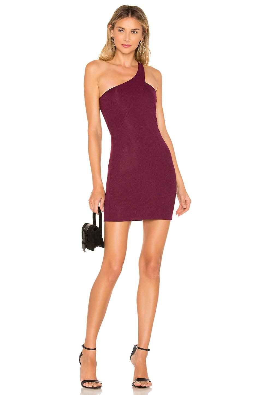 Privacy Please Holland Mini Dress in Plum Purple