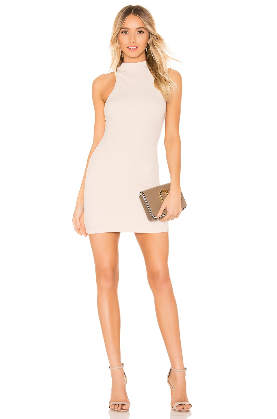 Privacy Please Alden Mini Dress in Ivory