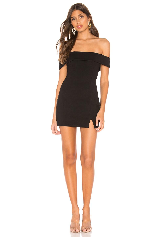 Privacy Please Lela Mini Dress in Black