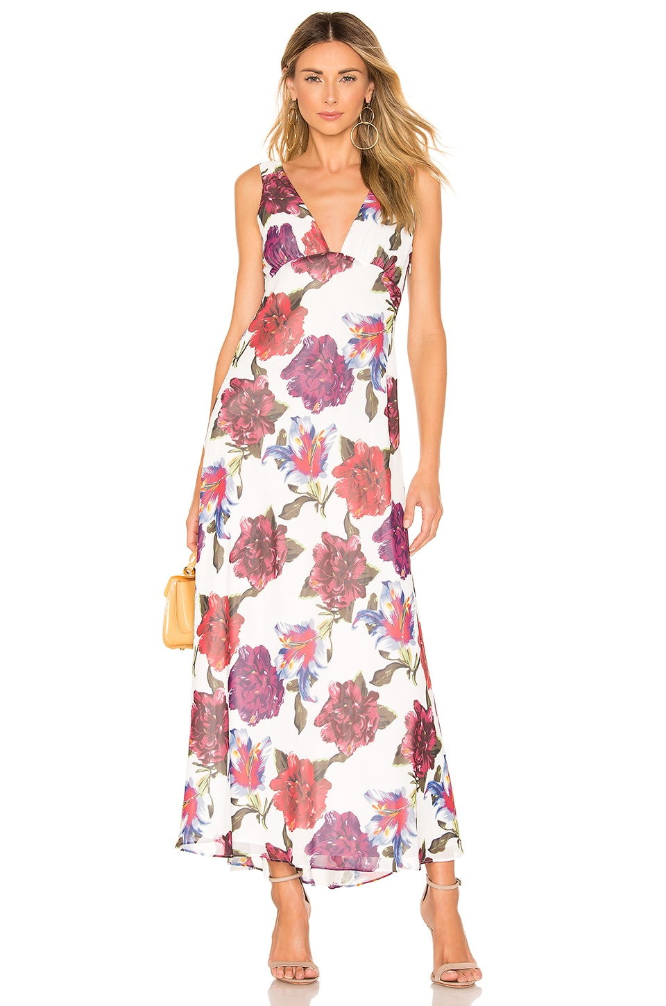 Privacy Please Descanso Maxi Dress in Lilac Floral