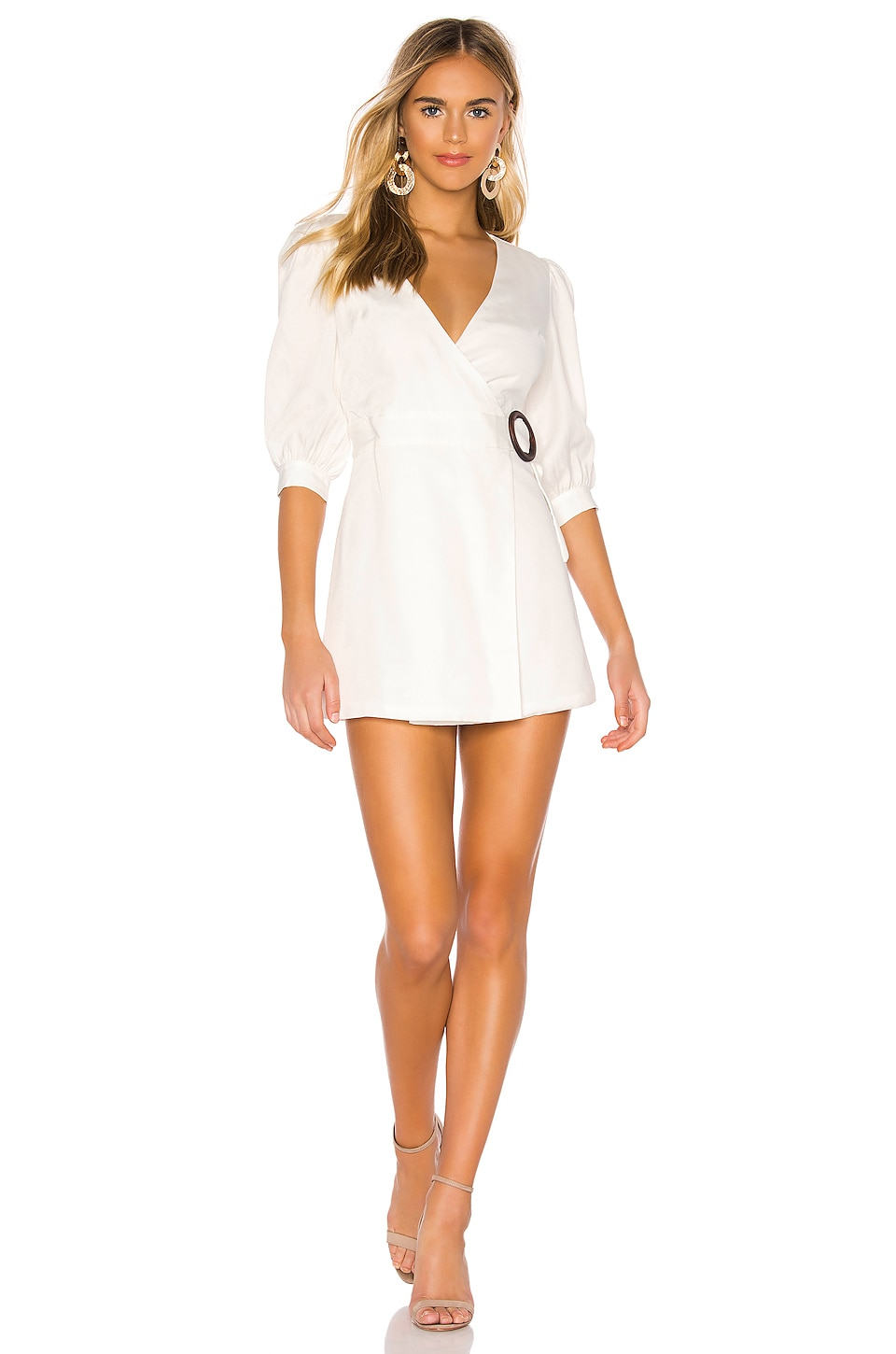 Privacy Please Marcela Mini Dress in White