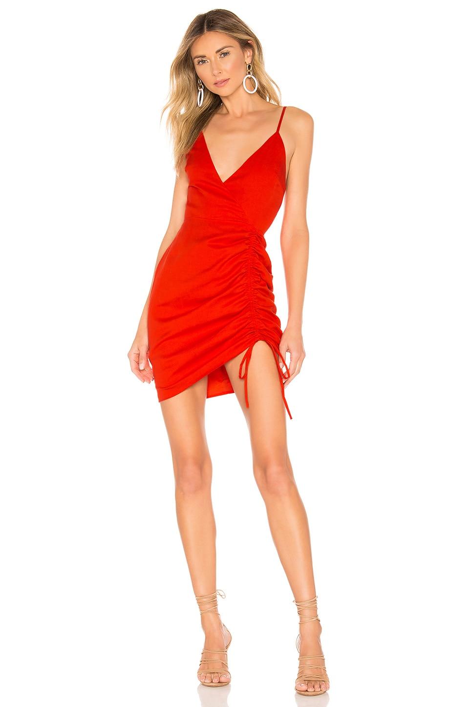 Privacy Please Mikaela Mini Dress in Red