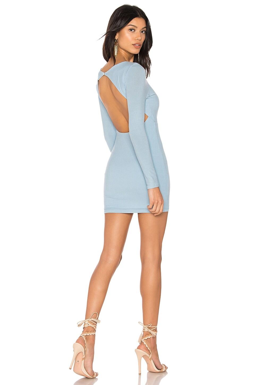 Privacy Please Lola Mini Dress in Columbia Blue