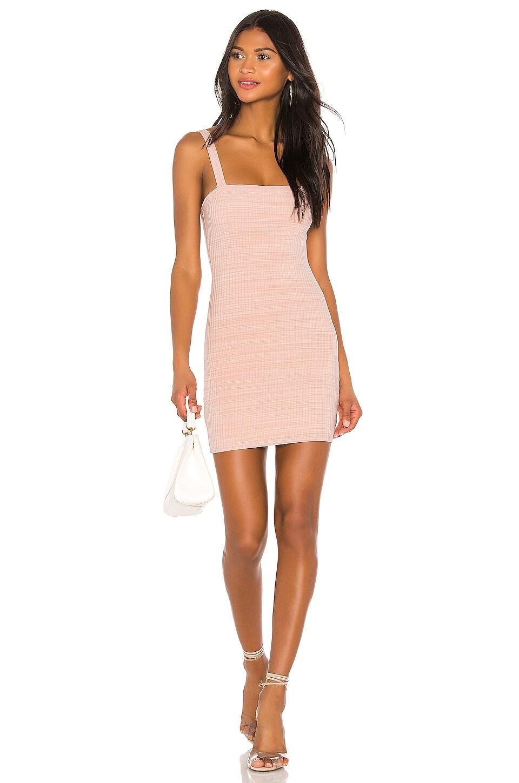 Privacy Please Bradian Mini Dress in Shell Pink