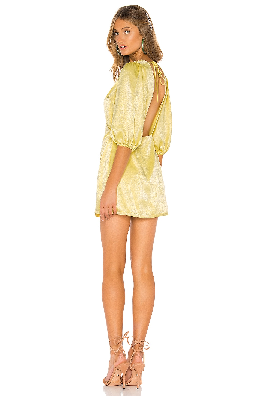 Privacy Please Selena Mini Dress in Yellow