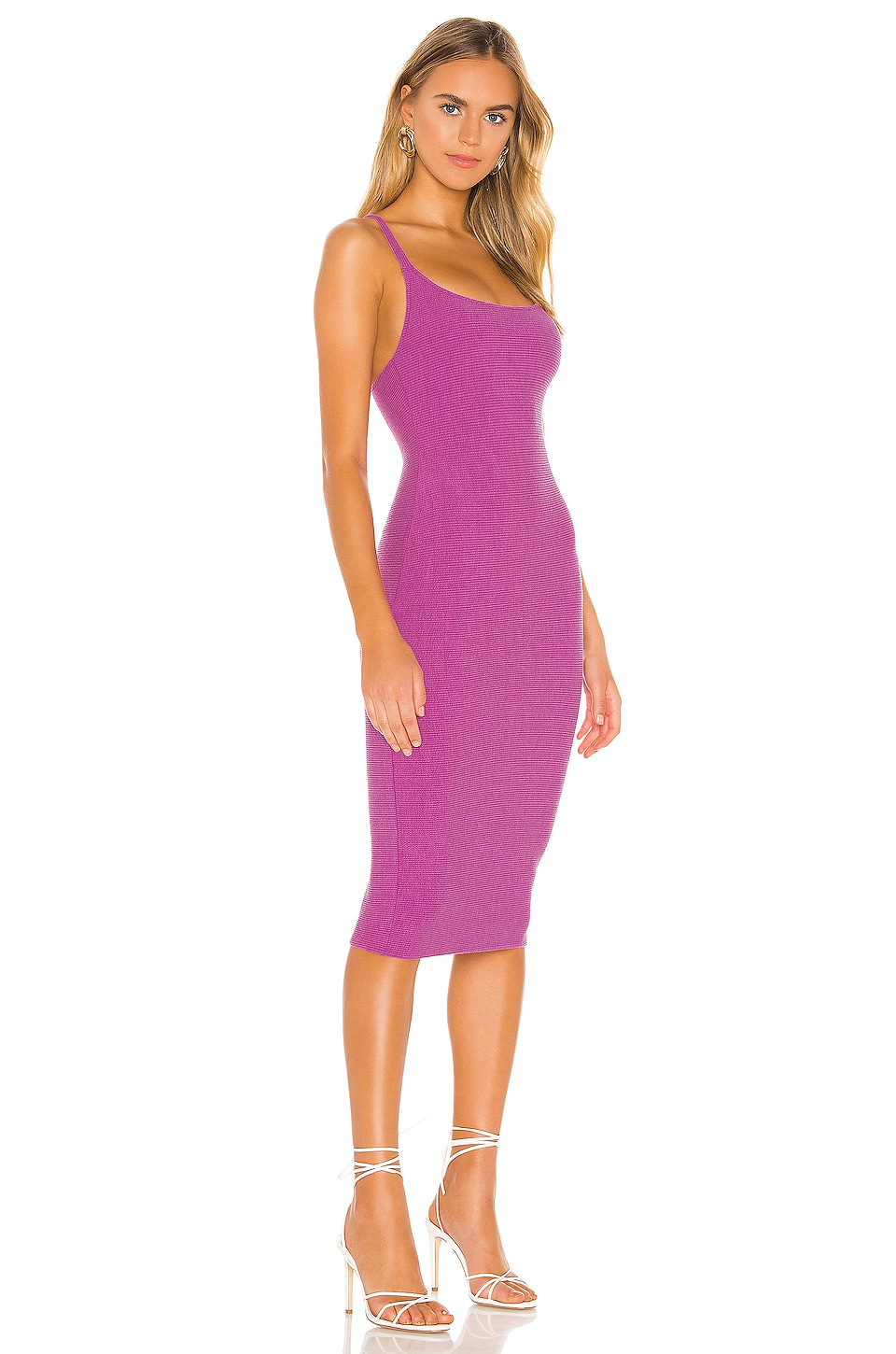 Lydia Midi Dress, view 2, click to view large image.