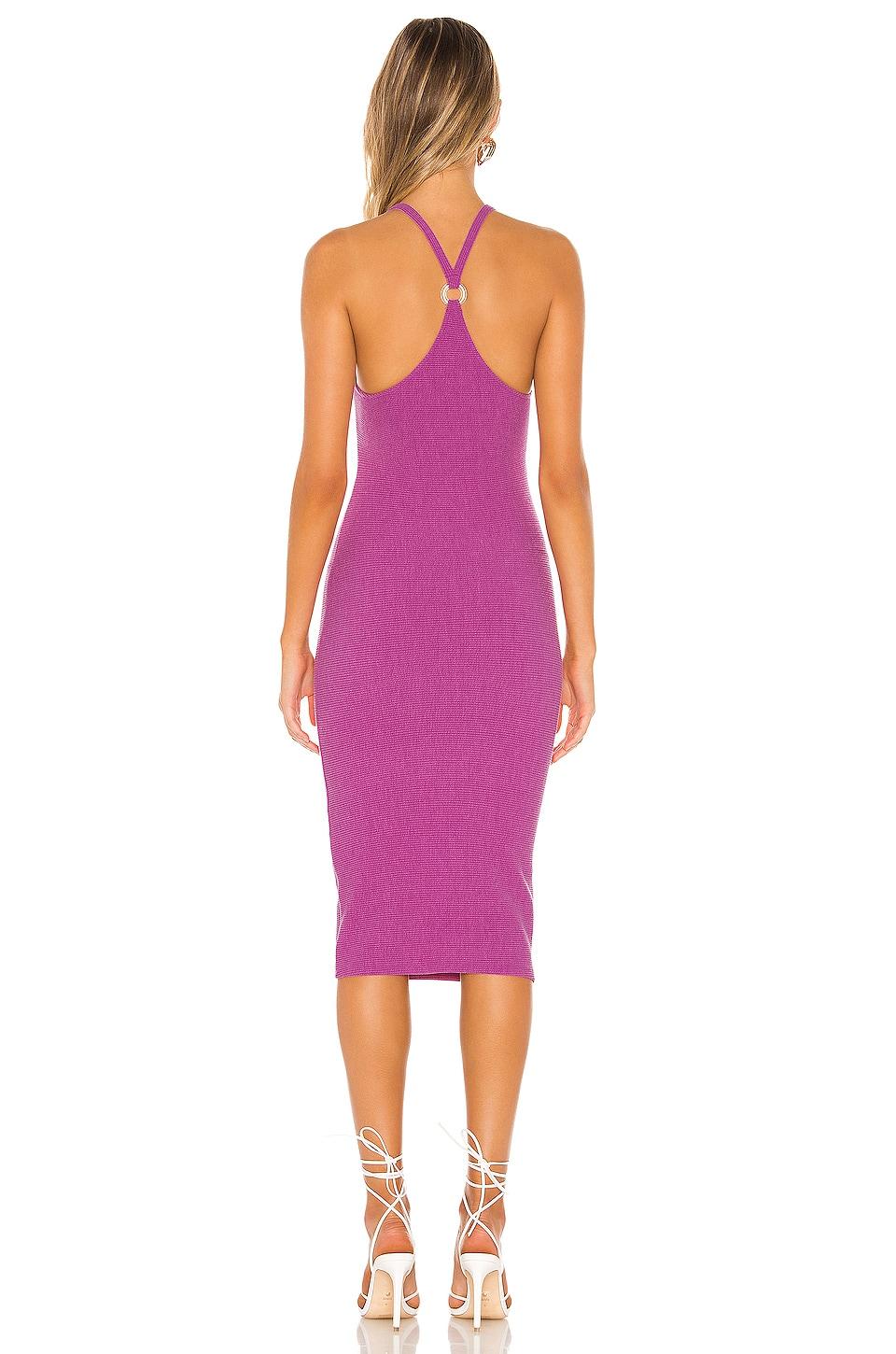 Lydia Midi Dress, view 3, click to view large image.
