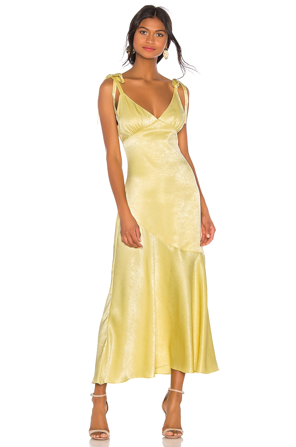 Privacy Please Nina Maxi Dress In Yellow Revolve Find a perfect maxi dress for a formal event or a day at the beach. privacy please