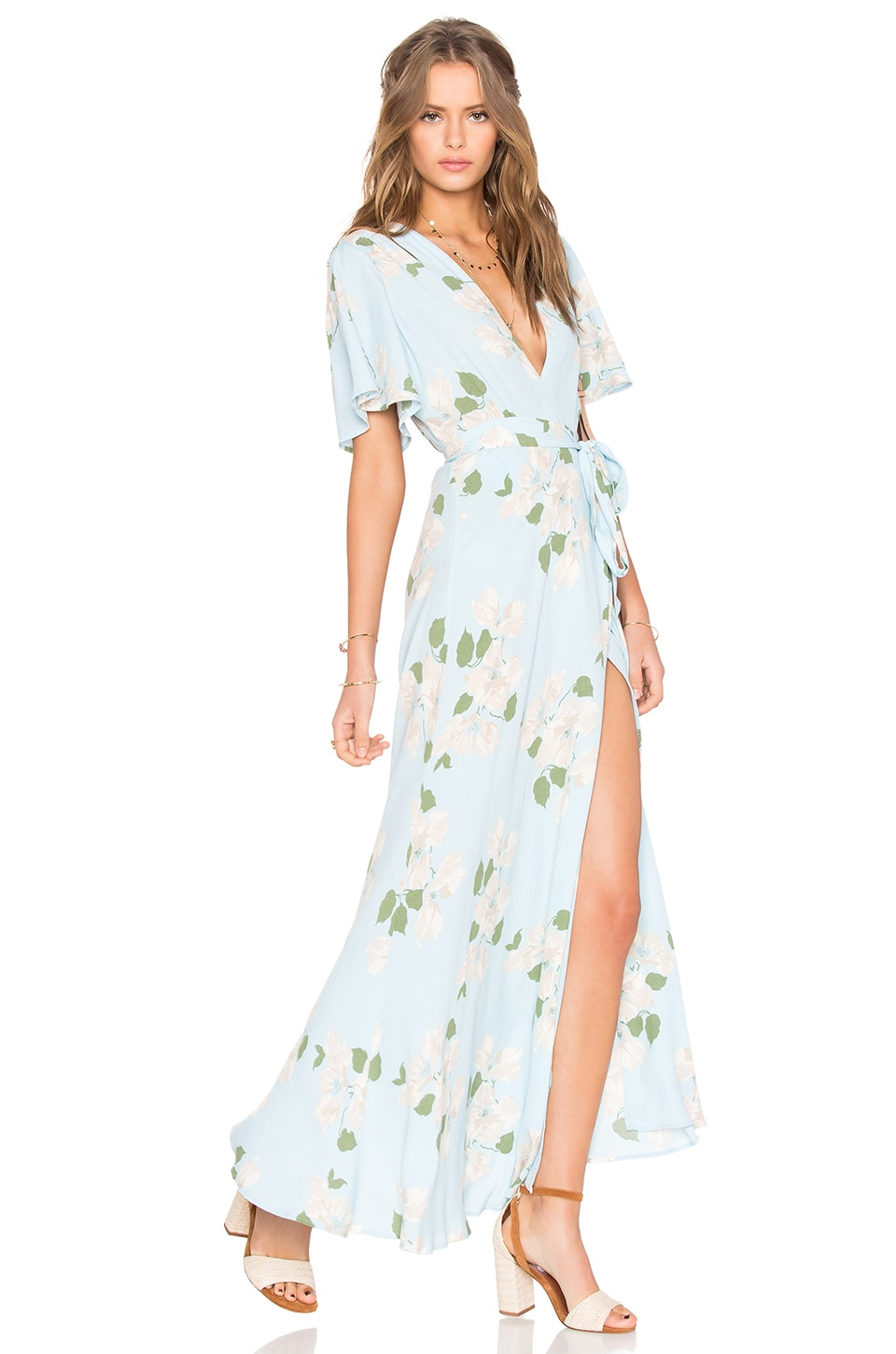 Privacy Please Plaza Kimono Dress in Gramont