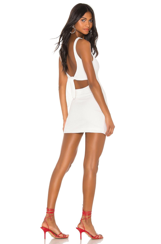 Privacy Please Neva Mini Dress in Peony White