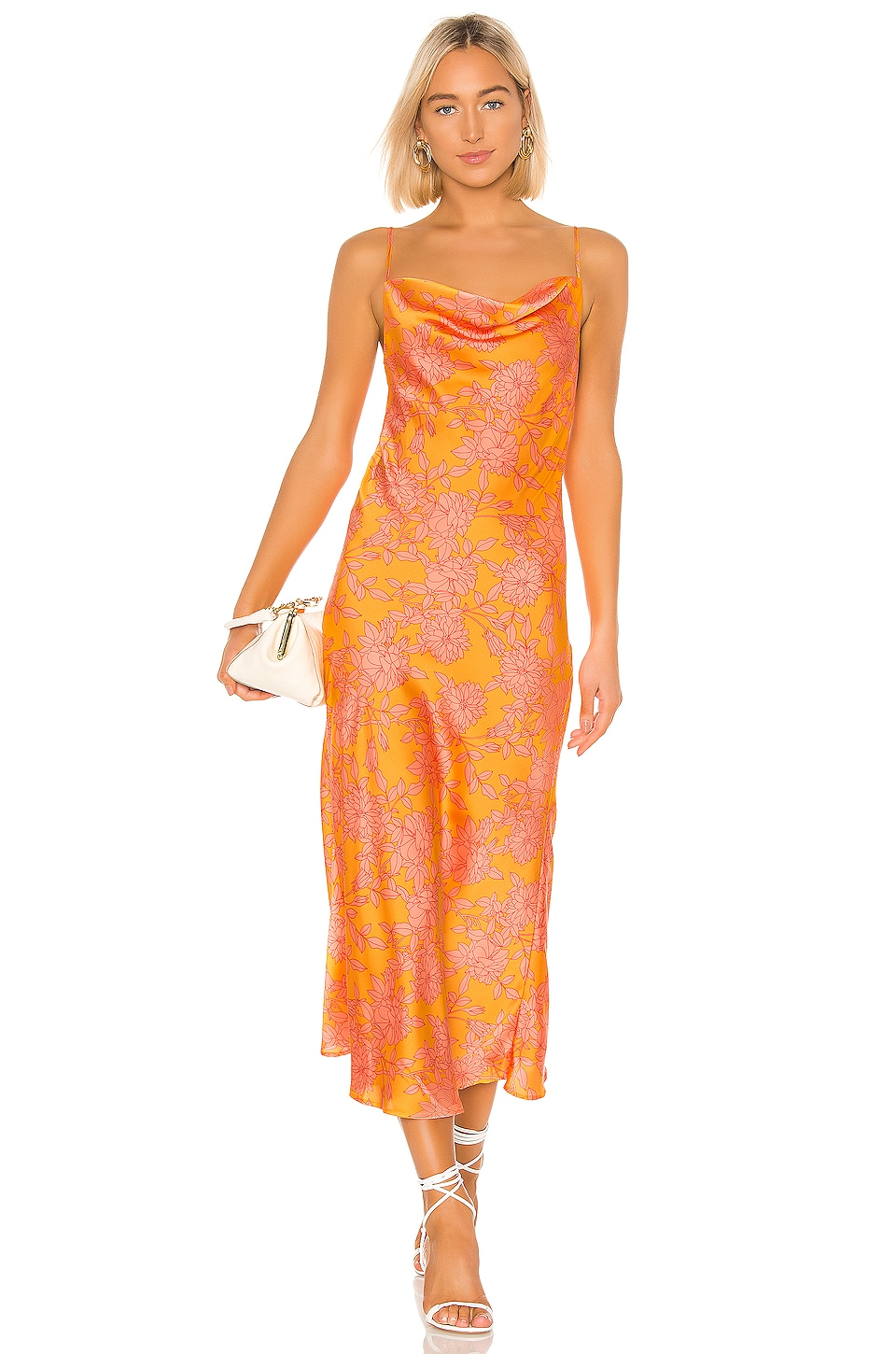 Privacy Please Skylar Maxi Dress in Marigold Ana Floral