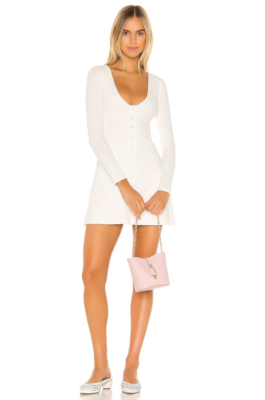 Privacy Please Beatrice Mini Dress in White