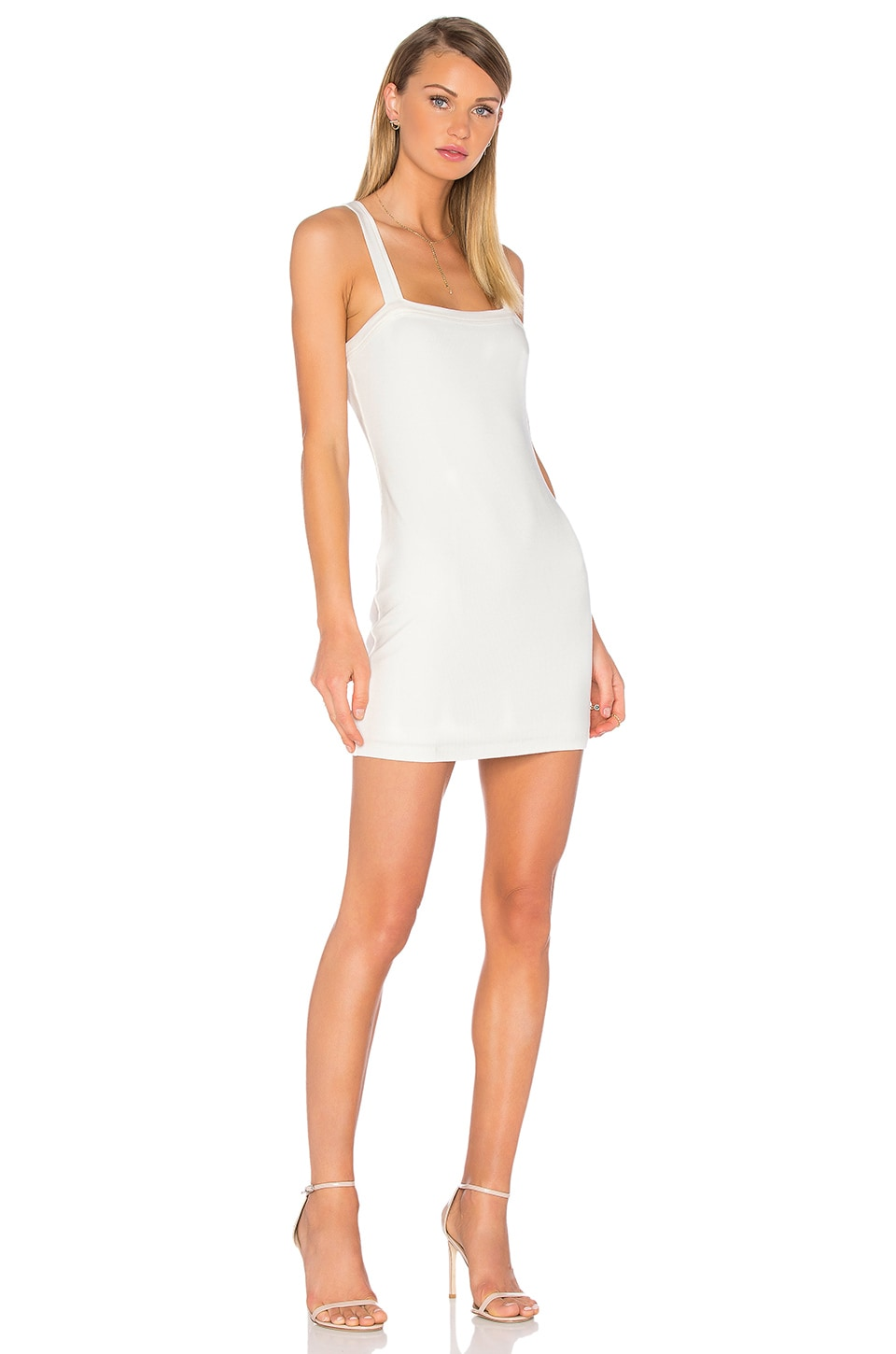 Privacy Please Bradian Dress in Ivory