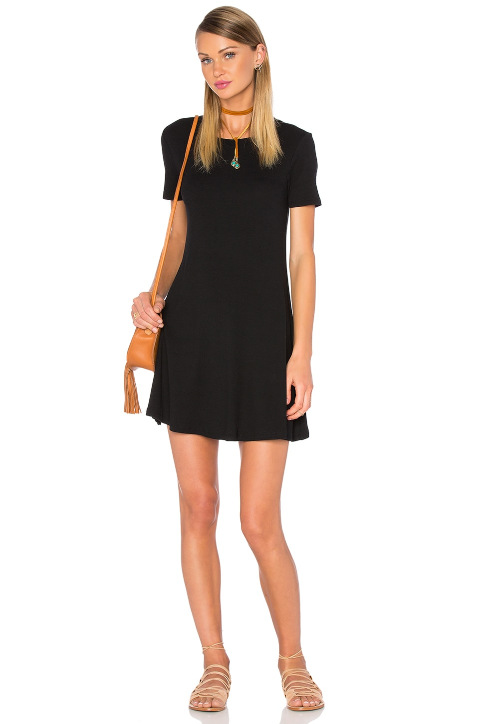 Privacy Please Caldwell Dress in Black