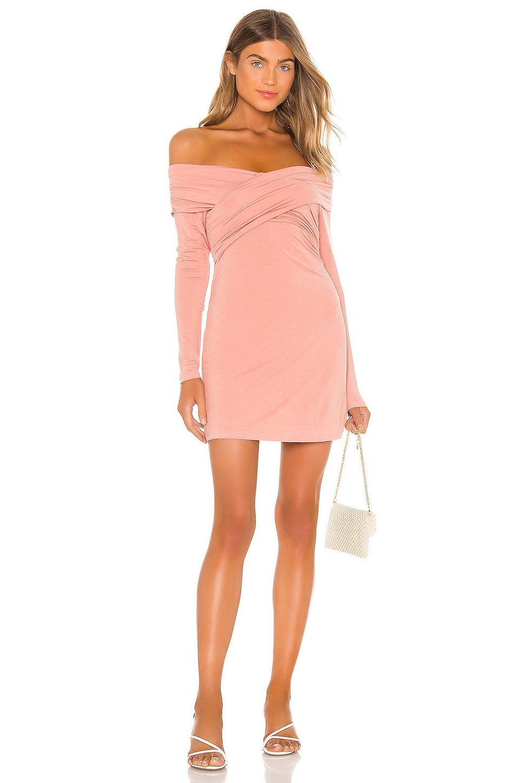 Privacy Please Rene Mini Dress in Blush