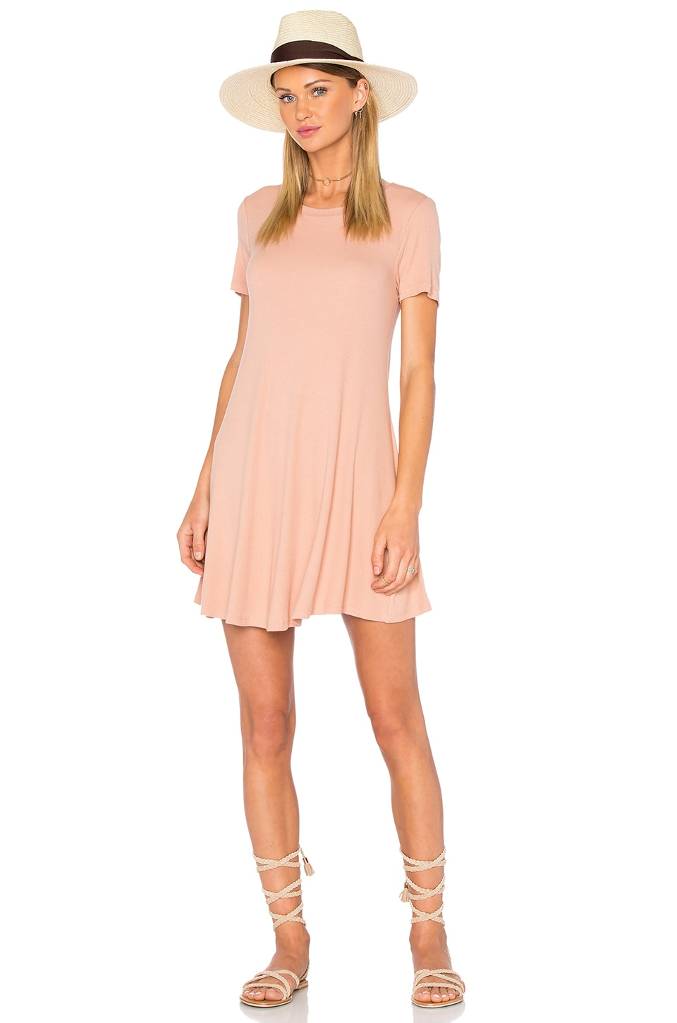 Privacy Please Caldwell Dress in Nude