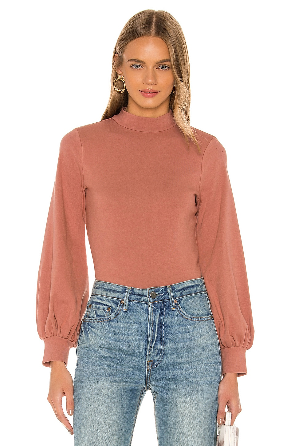 Privacy Please Emersyn Sweater in Mauve