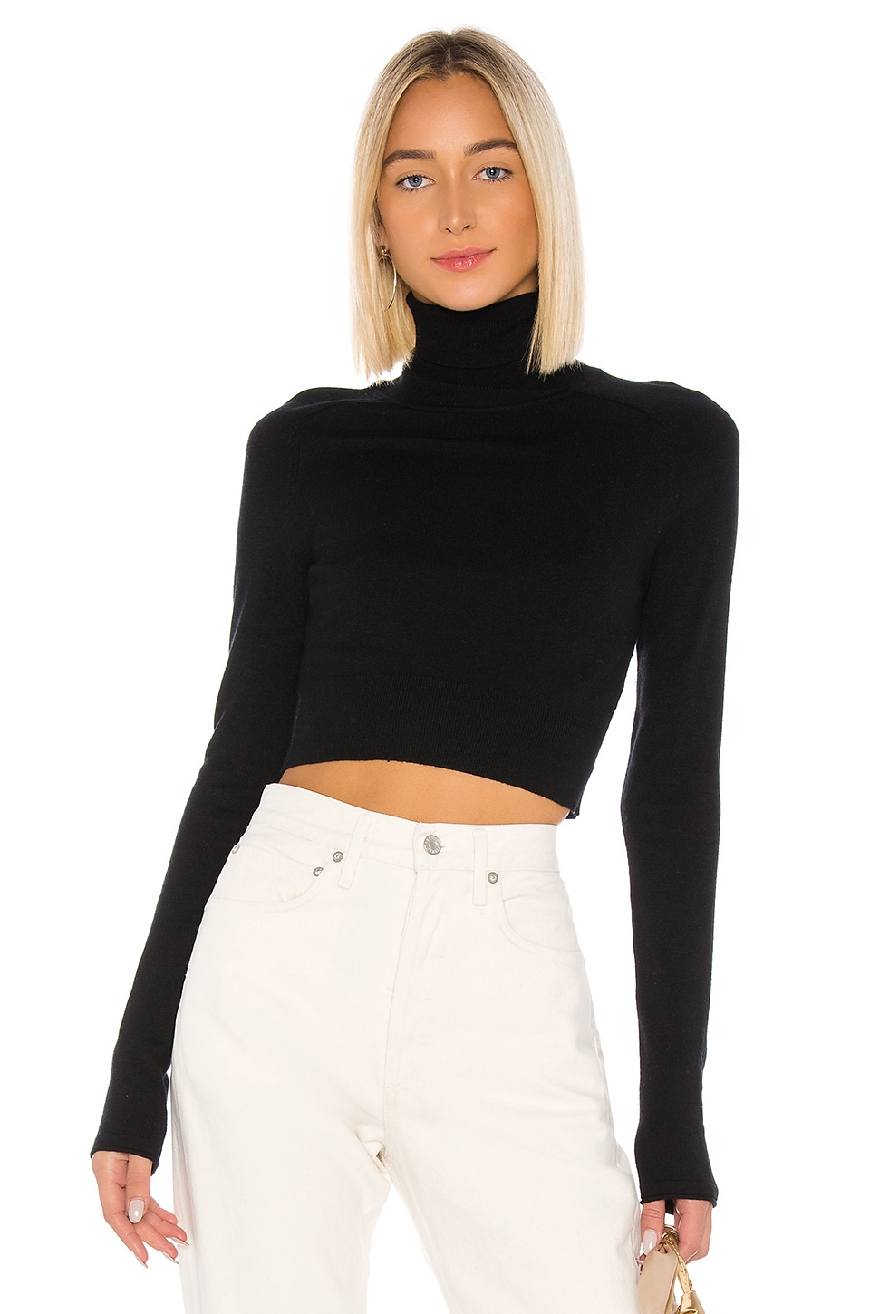 Privacy Please London Sweater in Black